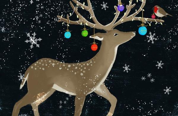 Reindeer & Baubles