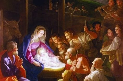 The Nativity at Night